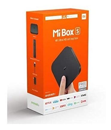 Xiaomi Tv Box Mi Box S Ultra Hd 4k Global Bivolt S/juros