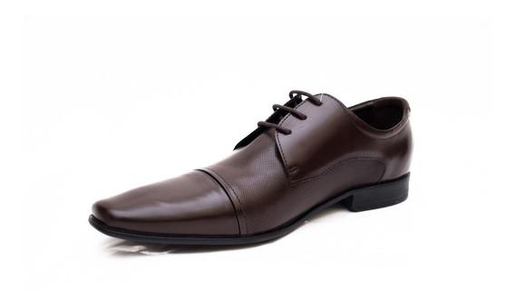 Sapatos Masculinos Democrata 055115 Preto Ou Tabaco