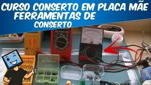 Curso Placa Mãe (monitor ,hd,drive Dvd ,fonte Atx E Not)