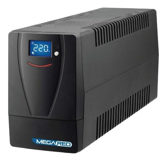 Ups Standby Con Estabilizador Y Display De 850va Mega Red