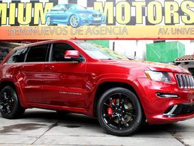 Jeep //grand Cherokee Srt-8// 2013 Seminueva!! Piel Qc Gps