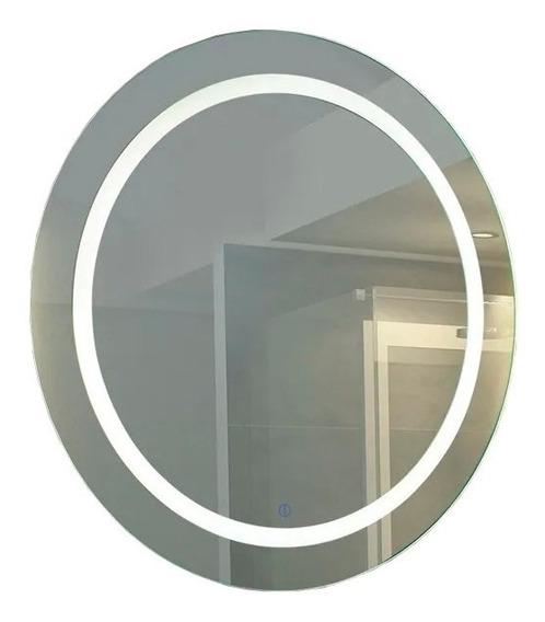 Espejo 3 Con Luz Led Touch 28w Deco Baño Moderno 80 Cm