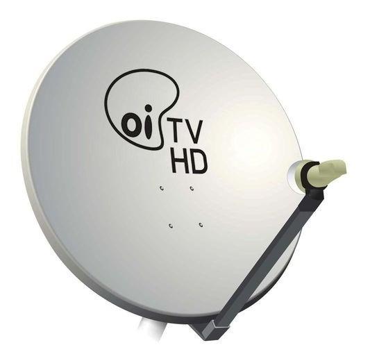 Antena Ku 60 Cm Com Logo