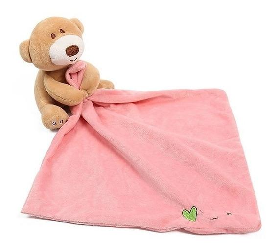 Naninha De Urso Com Toalha De Boca Super Macia Newborn