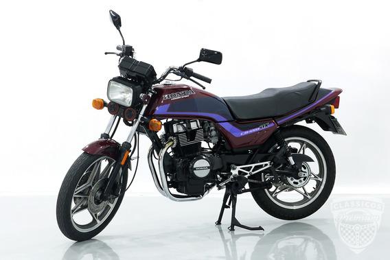 Honda Cb 450dx 1992 92 - Antiga - Moto
