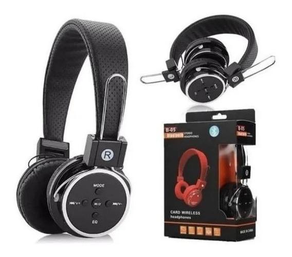 Fone Ouvido Sem Fio Wirelles Bluetooth Headphone Micro B-05