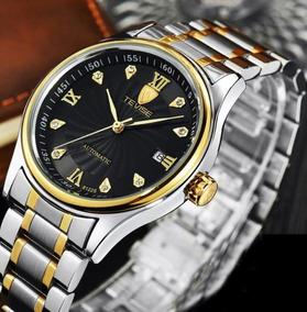 Relógio De Pulso Masculino Tevise Automático Original M355