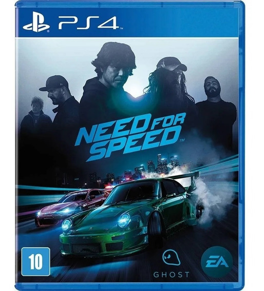 Jogo Lacrado Need For Speed Game 2015 Br Para Ps4