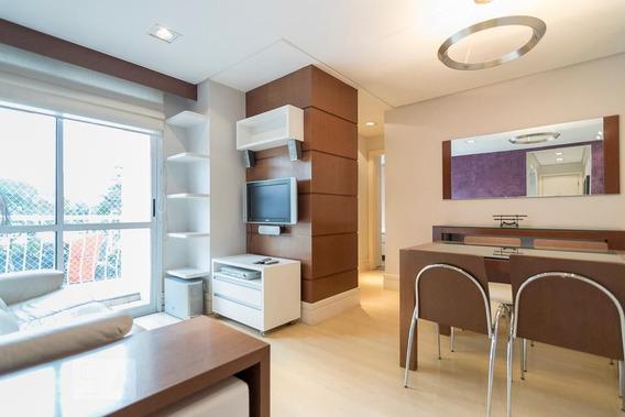 Apartamento No 3º Andar Mobiliado Com 2 Dormitórios E 1 Garagem - Id: 892952315 - 252315