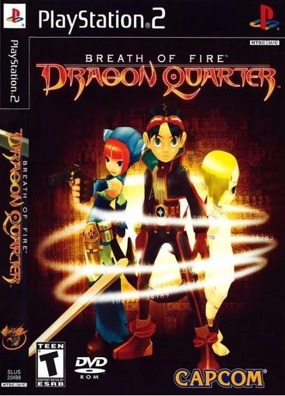 Jogo Breath Of Fire V Dragon Quarter Ps2