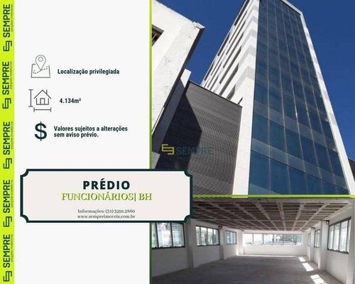Imagem 1 de 17 de Prédio Para Alugar, 4.134 M² - Funcionários - Belo Horizonte/mg - Pr0039
