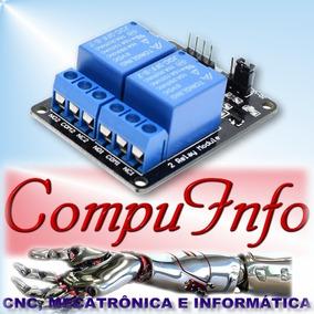 Modulo Relé 2 Canais Para Automação Arduino Raspberry