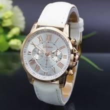 Relógio Geneva Feminino Quartz De Aço Inoxidável