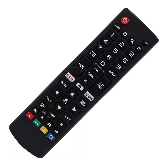 Controle Remoto Tv Led Lg Smart Akb75095315 Netflix Amazon