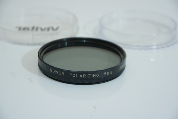 Filtro Bower Polarizador 58mm Japan Polarizer No Estojo