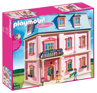 Casa De Muñecas De Lujo Playmobil