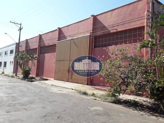 Barracão Com 1920m² Construídos No Centro Da Cidade! - Ba0068