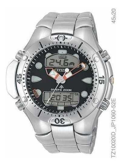 Relógio Citizen Aqualand Promaster Jp1060-52e Pronta Entrega