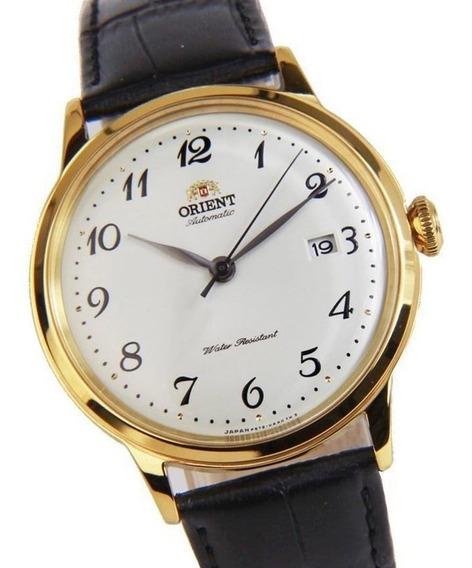 Relógio Orient Bambino Automático Dourado