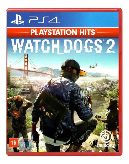 Watch Dogs 2 - Ps4 - Play 4 - Novo - Mídia Física - Lacrado
