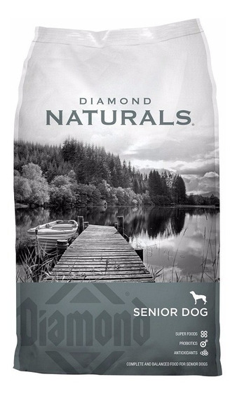 Diamond Naturals Senior 35 Libras/15.8 Kg. Nuevo Y Original