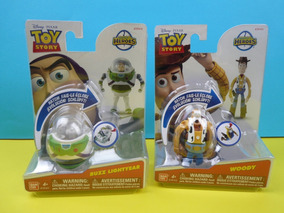 Pack Buzz Lightyear E Woody Hatch´n Heroes Toy Story- Dtc