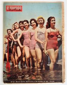 Revista O Mundo Ilustrado - N° 38 Chegou Lacerda - 1956