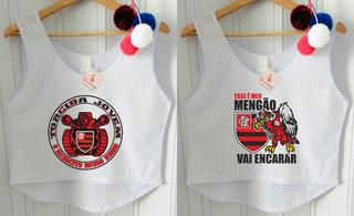 Camisa Flamengo Feminina Regata Retro Tricarioca 2018 Barato