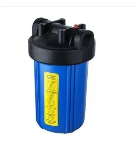 Imagen 1 de 2 de Porta Filtro 4.5 X 10 + Carbon Activado Block  5 Micras