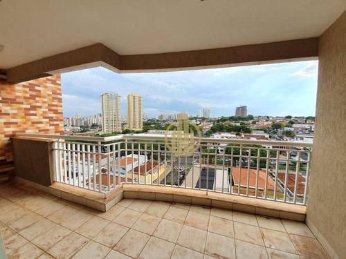 Imagem 1 de 21 de Apartamento Com 3 Dormitórios À Venda, 131 M² Por R$ 550.000,00 - Vila Seixas - Ribeirão Preto/sp - Ap1646