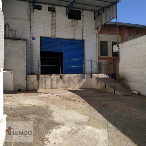 Imagem 1 de 23 de Imob01 - Galpão Comercial 350 M² - Planalto - São Bernardo Do Campo/sp - Ga0023