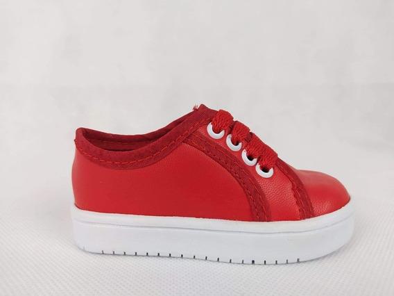 Zapato Bebé Niño Lindos Rojo