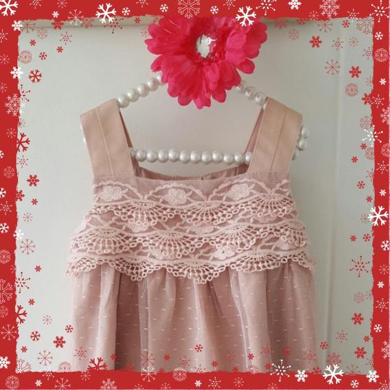 Vestido De Niña 1 Año / Vestido Encaje Niña 12 Meses
