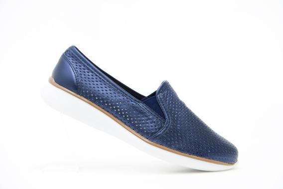 Flexi Dama Zapatos Modernos 28202 Azul 100% Originales!!