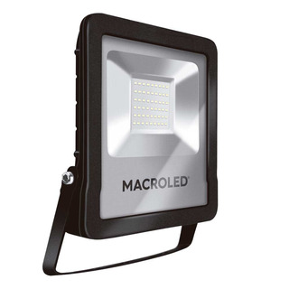 Pack X 4 Reflectores Led Macroled 50w 220v Calida Alta Ext