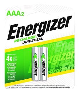 Pilas Recargables Energizer Aaa 700 Mah Blister X 2 Unidades