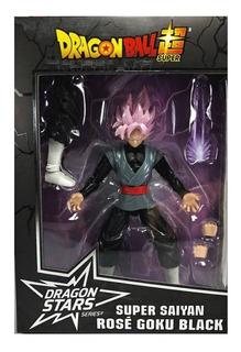 Muñeco Dragon Ball Super 17 Cm Articulados Goku Black Rose 3