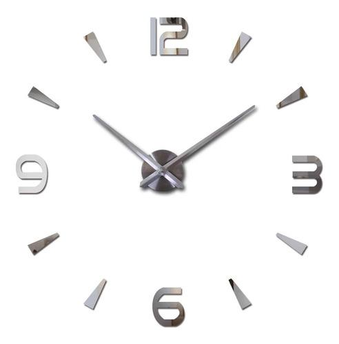 Reloj Adhesivo 3d 100 X 100 Cm