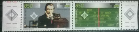 C@- Marconi - Premio Nobel - Yvert # 1408/9 - Mint