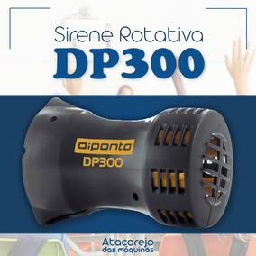 Sirene Rotativa Escolar Industrial Dp300 Metros 110/220v