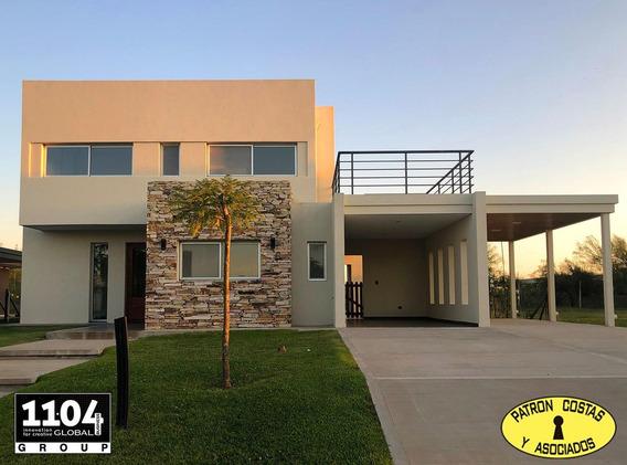 2583ro-casa En Venta Puertos Del Lago Barrio Vistas Estrenar