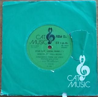 Star Cat Local Band - Disco Simple - Concierto Para Un Loco
