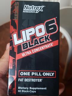 Lipo 6 Black Ultra Concentrate Importado