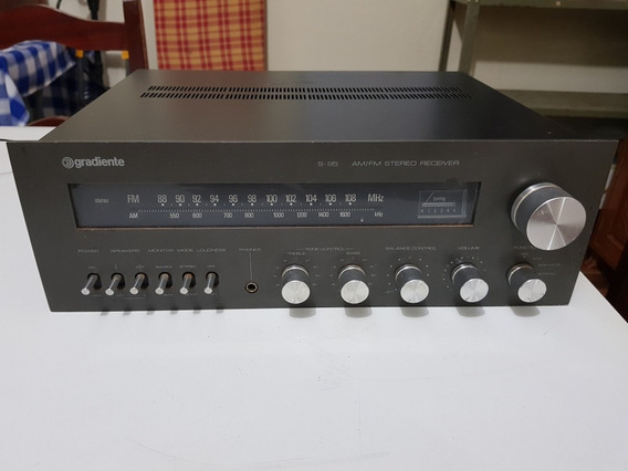 Am-fm Sterio Receiver Gradiente S-95