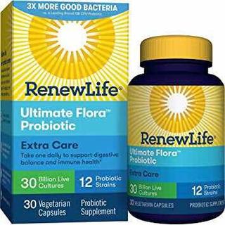 Probiotico Renew Life Ultimate Flora Extra Care 30 Bilhoes