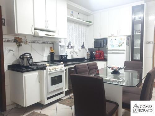 Imagem 1 de 8 de Casa Para A Venda No Bairro Parque São Vicente Em Mauá - Sp . - Ca00306 - 69541205