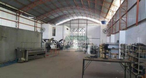 Imagem 1 de 4 de Galpão, 800 M² - Venda Por R$ 850.000,00 Ou Aluguel Por R$ 5.000,00/mês - Lago Azul - Manaus/am - Ga0251