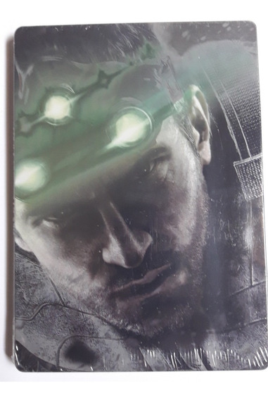 2 Uni Estojo Case Box Splinter Cell Blacklist Dvd/cd/ps3/ps4