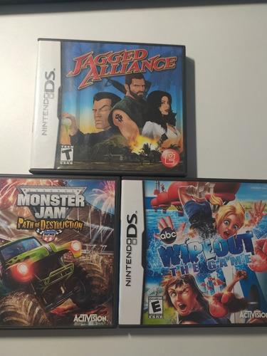 Lote Juegos Nintendo Ds Originales