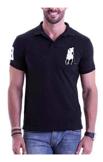 Kit 6 Camisetas Gola Polo Masculina Grandes Marcas Atacado